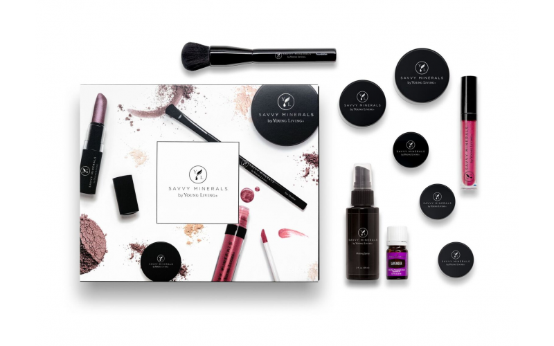 Young Living's new natural, clean beauty, makeup line, Savvy Minerals by Young Living.