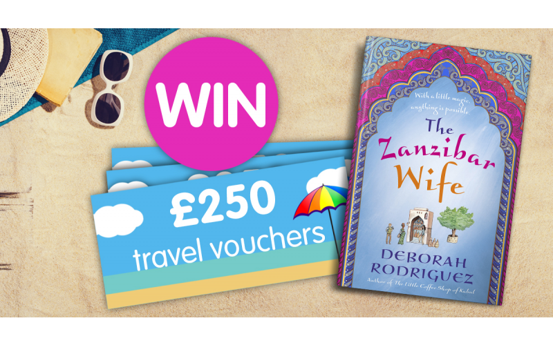 Win a £250 holiday voucher and a copy of The Zanzibar Wife!