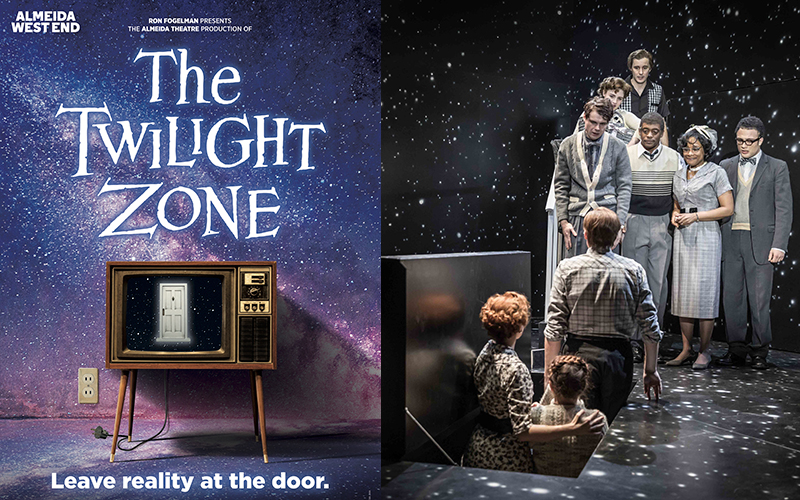 Win four Band A tickets to see the Twilight Zone