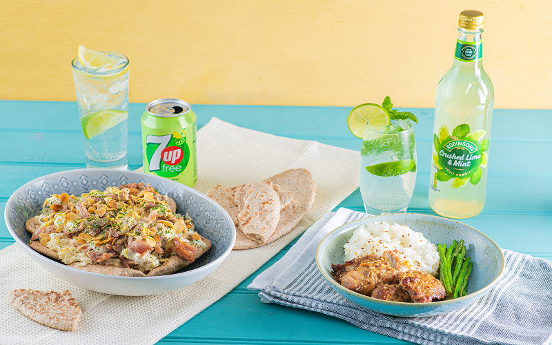 A DELICIOUS MEAL & DRINKS KIT FOR 2 PEOPLE - ENOUGH FOR 2 DAYS!