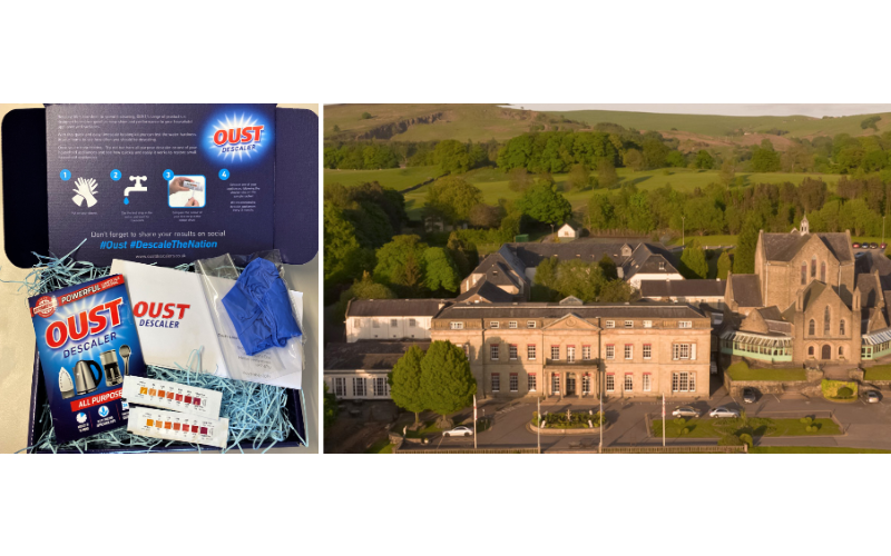 Oust Limescale Busting Kit and a luxury stay at Peak District