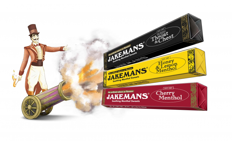 WIN A WINTER SUPPLY OF JAKEMANS CONFECTIONERY AND A JOHN LEWIS £50 VOUCHER