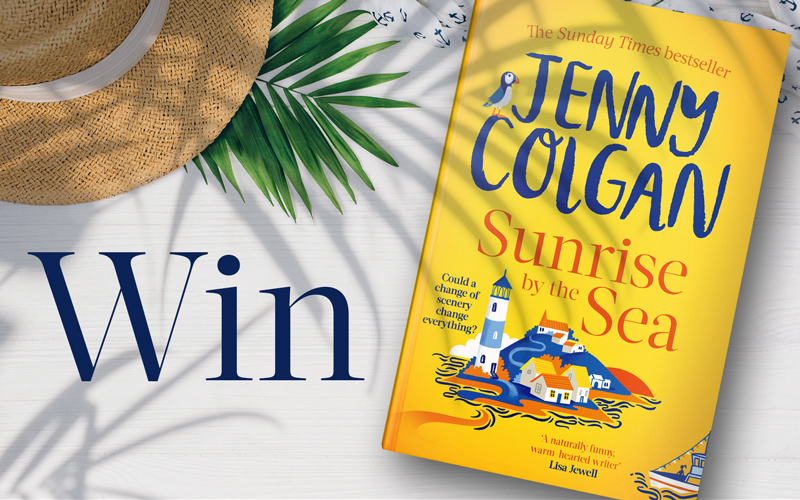 WIN Sunrise by the Sea by Jenny Colgan  plus £100 worth of vouchers to spend on your holiday