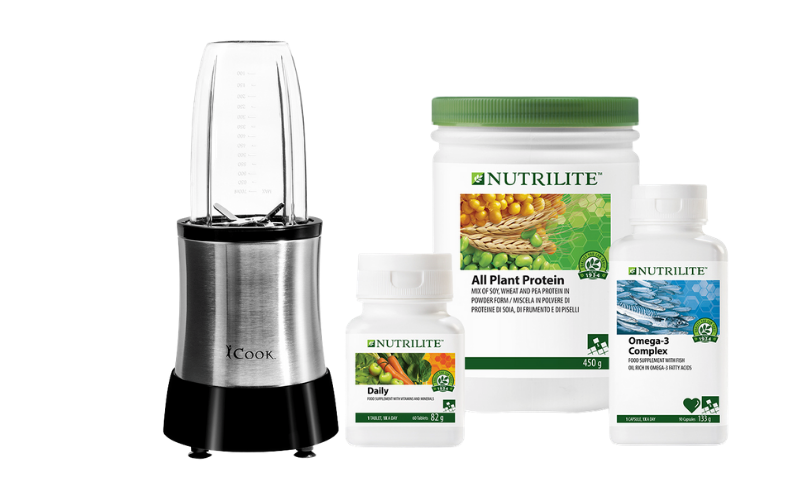 Win a Nutrilite foundational bundle and blender worth over £200