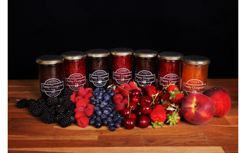 A Pretty Gorgeous jam hamper and exclusive goodies