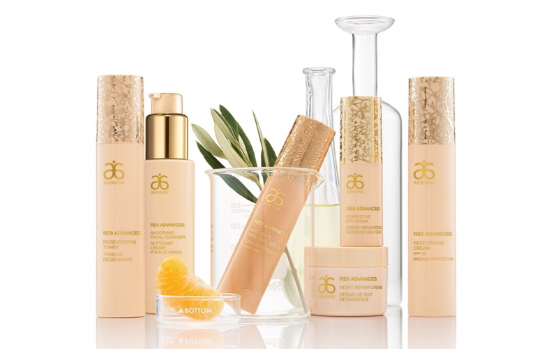 A free professional consultation and anti-aging skincare products