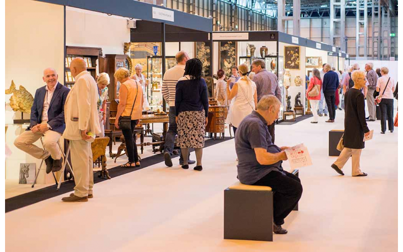 Family Ticket to NEC Antiques Fair