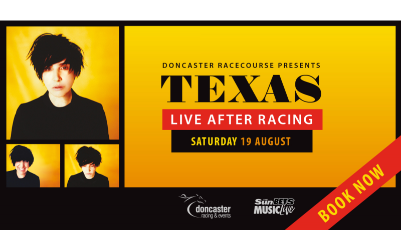 A pair of tickets for Texas live at Doncaster Racecourse