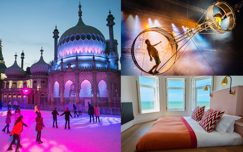 Win a Magical Festive Visit for two to Brighton before Christmas!