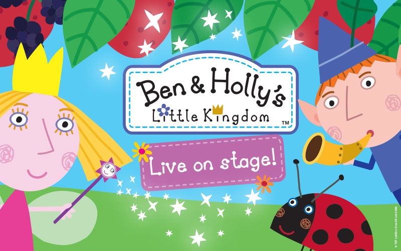 a family ticket to see Ben & Holly's Little Kingdom live on stage!