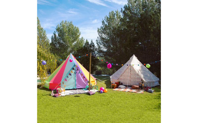 Win a Boutique Camping Weekender bell tent!