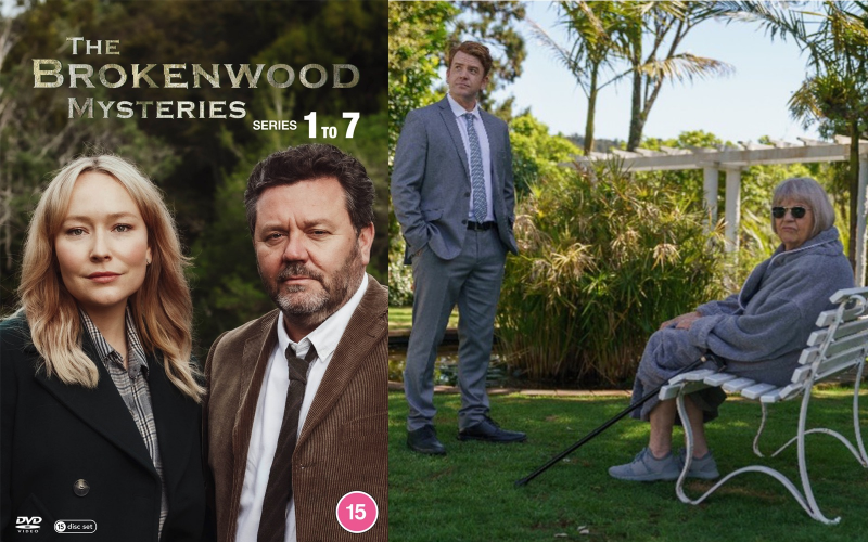 Win The Brokenwood Series 1-7 Complete Boxset on DVD