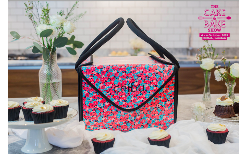 Chibu reusable cake carrier and a pair of tickets to the Cake & Bake Show