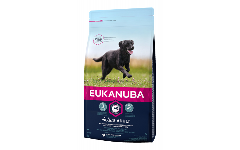 WIN a 3 month supply of EUKANUBA's premium dog food!