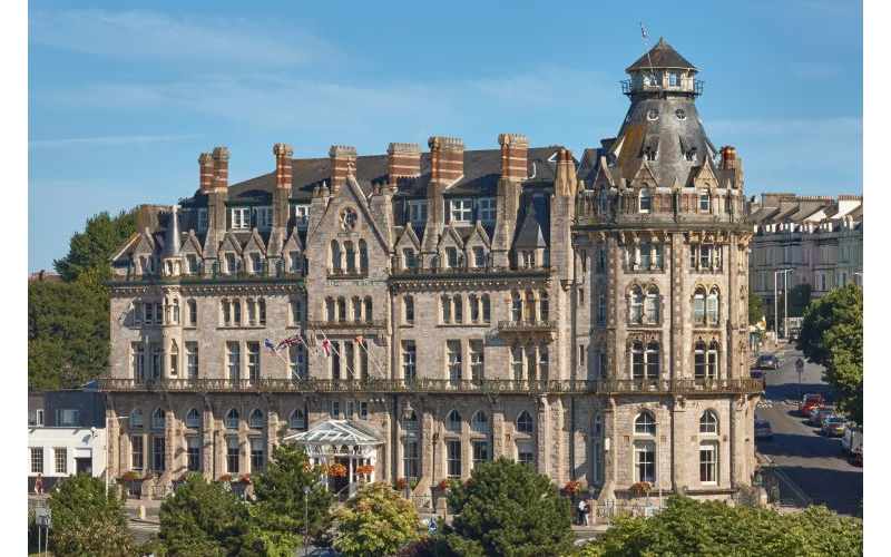 One night stay at the Duke of Cornwall Hotel for two in the Tower Suite