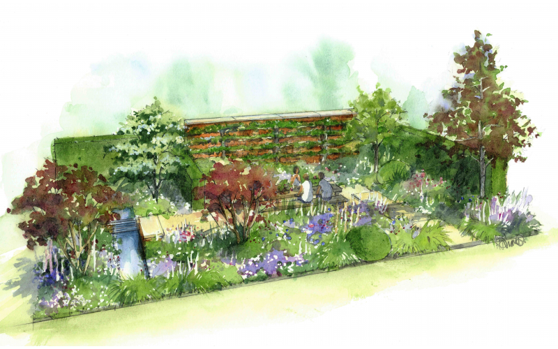 TICKETS TO WEDGWOOD'S 260TH ANNIVERSARY SHOW GARDEN AT RHS CHATSWORTH FLOWER SHOW