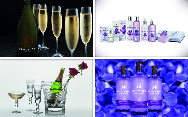 The ultimate fragrance and fizz package