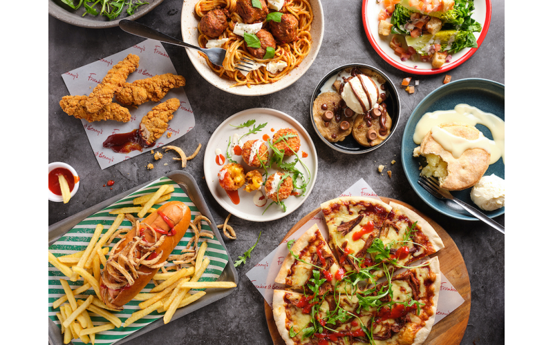 £100 gift card for Frankie & Benny's