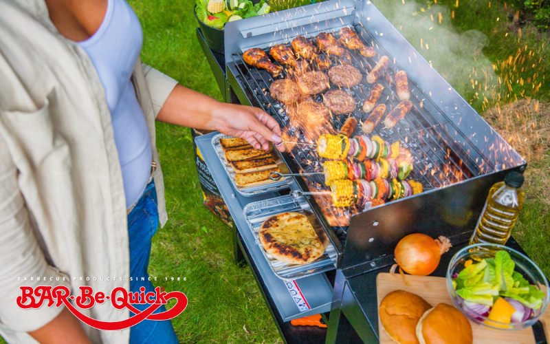 Bar-Be-Quick Trolley Grill & Bake Barbecue