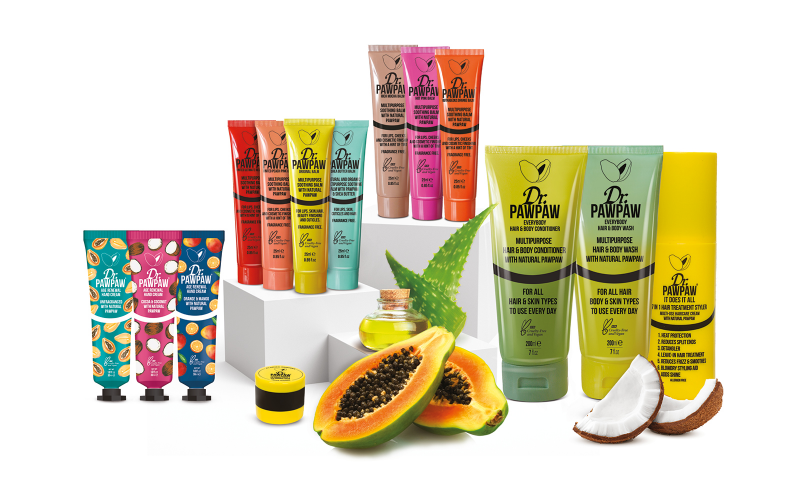 Win a Natural Beauty Collection from Dr.PAWPAW