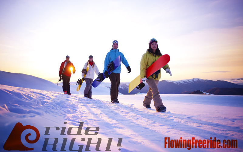 6 months of Flowing Freeride ALL Access Online Snowboard Lessons for up to a Group of Four