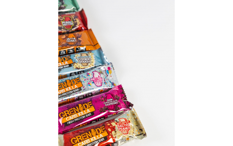 Ultimate snacking bundle from Grenade