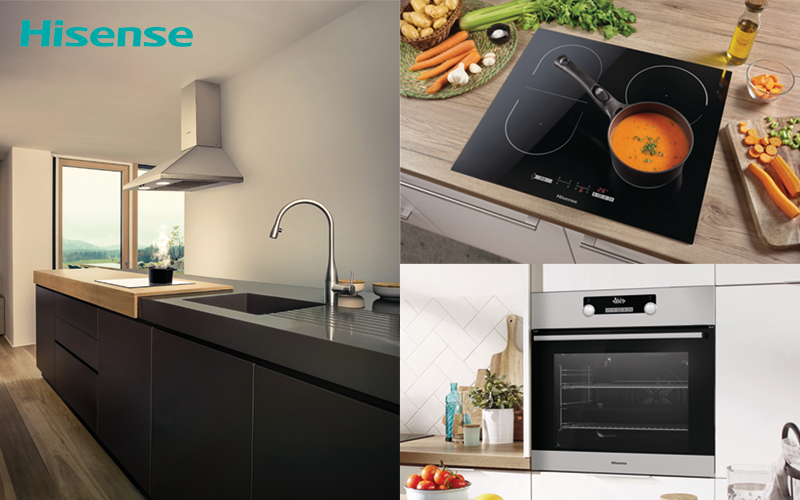 £600 worth of cooking products from Hisense
