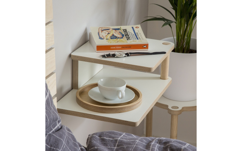 Peggi Bedside Tables and Stool