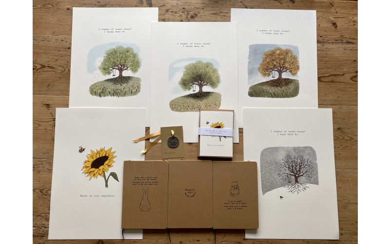 A selection of happy gifts from Nettlefold