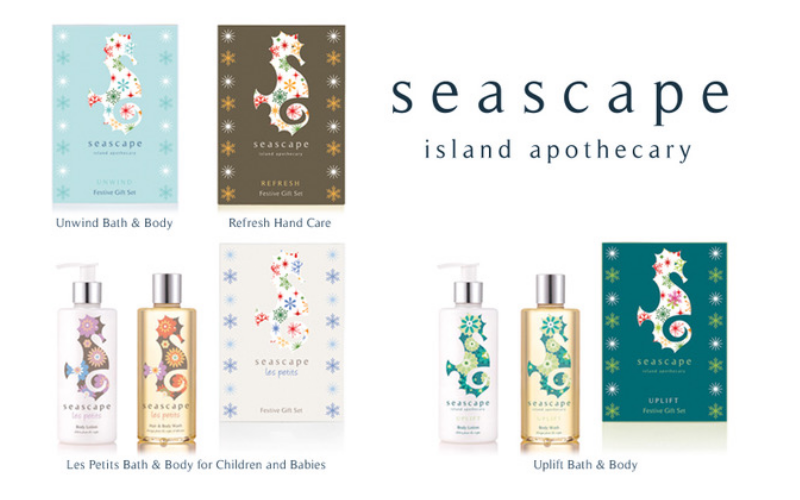 4 different Seascape Festive Gift Sets