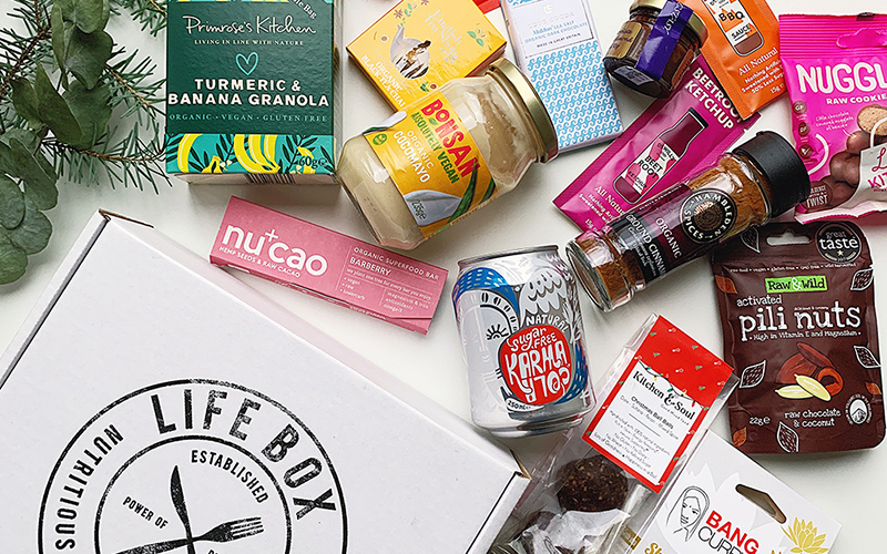 Win a year of healthy snacks, drinks and wellbeing goodies