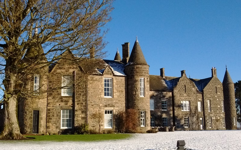 2 nights b&b at Meldrum House