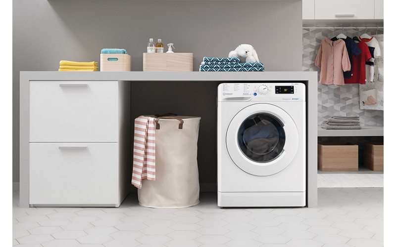 Win an Indesit washing machine with Push&Go technology