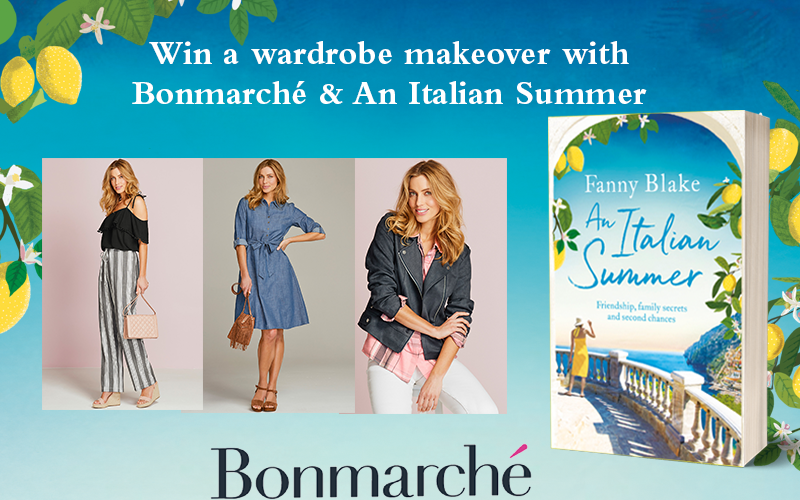 1 x 300£ voucher for Bonmarche and full backlist of Fanny Blakes title
