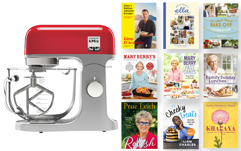 WIN a Kenwood Mixer plus an ULTIMATE cookbook collection