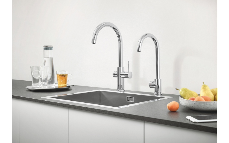 GROHE Red kettle hot water kitchen tap