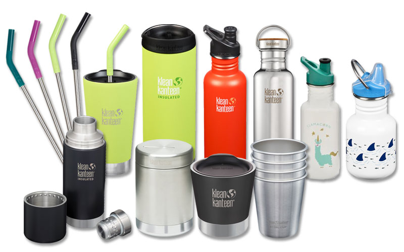 A Klean Kanteen bundle worth more than £250!