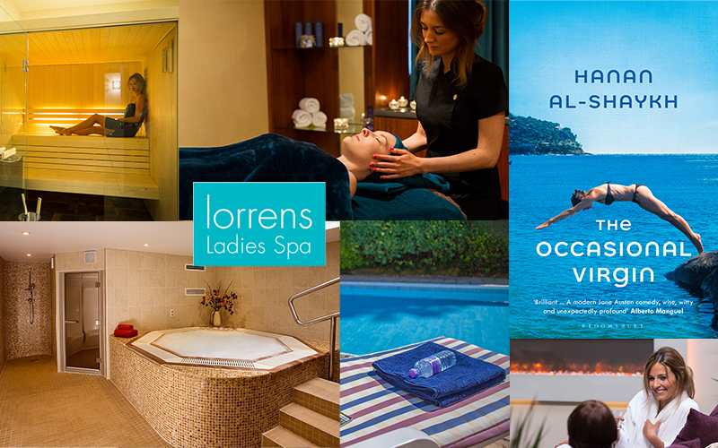 Perfect Spa Day + Dinner and bed & breakfast stay at Lorrens Ladies Spa for two women, plus a copy of THE OCCASIONAL VIRGIN by Hanan Al-Shaykh each
