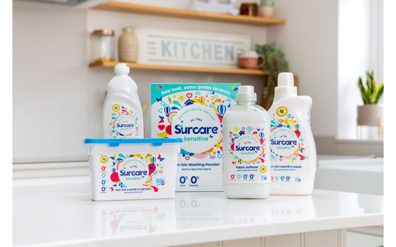Win a sensitive skin laundry bundle from Surcare