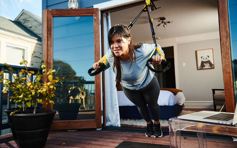 A TRX Move System & 12 months full access to live and on-demand TRX training workouts