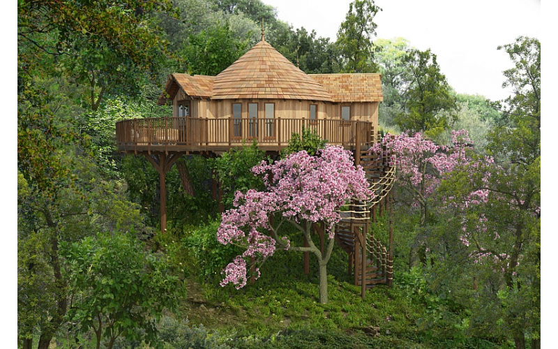 Win your mum a luxury treehouse weekend for four worth £500