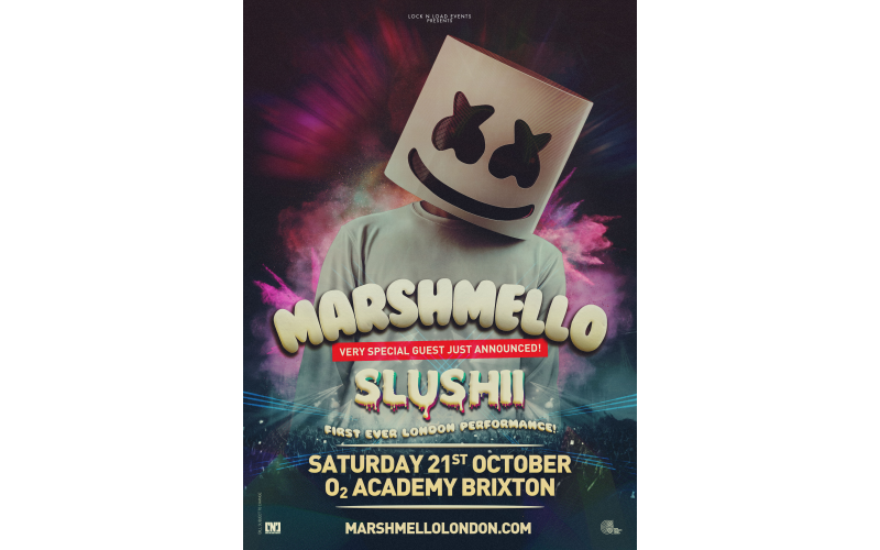 Win 4 tickets and meet marshmello at his Brixton show!