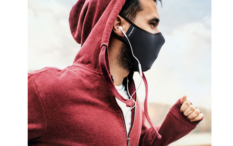 Antimicrobial fitness mask valued at £35