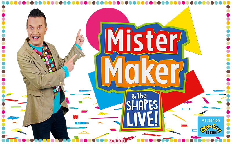 Tickets to see CBeebies' Mister Maker in his hit live theatre tour!