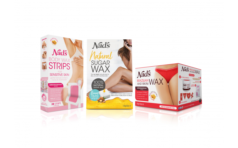 A Bundle of Nad's Hair Removal Products
