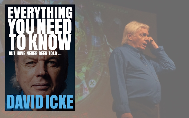 Copies of book Everything You Need To Know But Have Never Been Told by David Icke