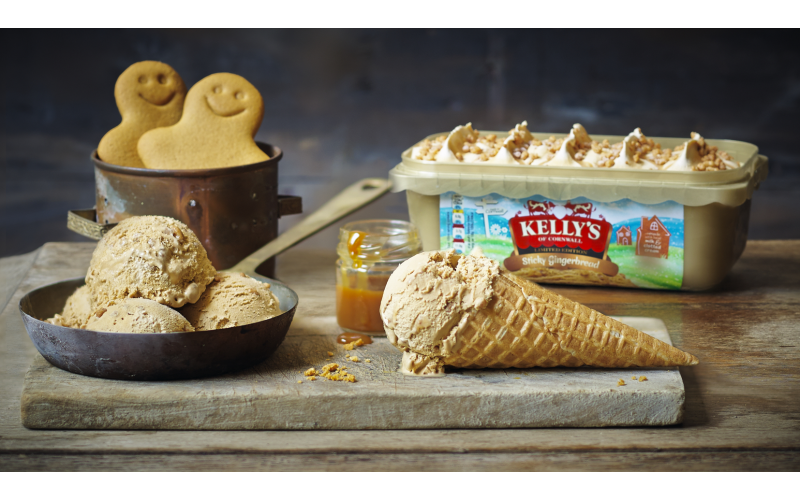 WIN: Kelly's of Cornwall is giving 10 lucky ice cream lovers the chance to win a three months' supply of ice cream