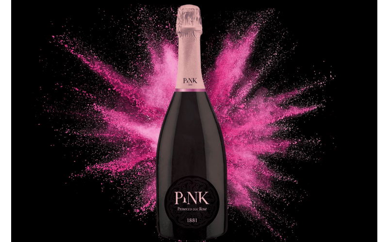 A case of PINK Prosecco