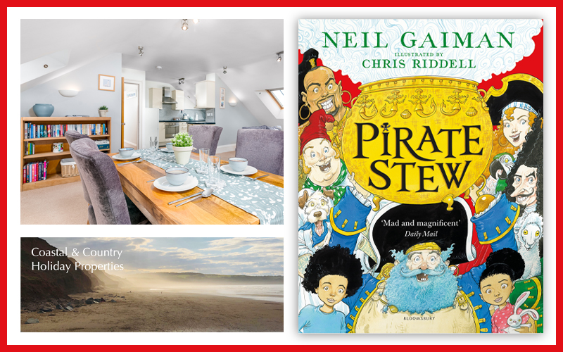 Win a 7-night break for you and your little pirates!