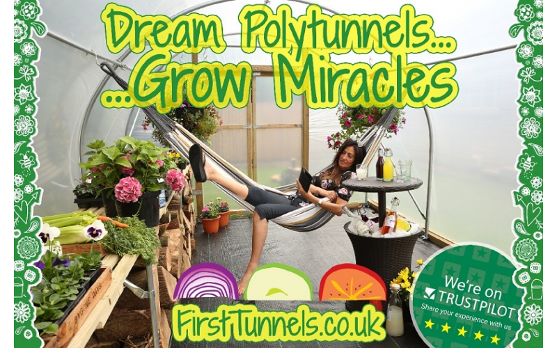 Win a £500 discount towards a polytunnel